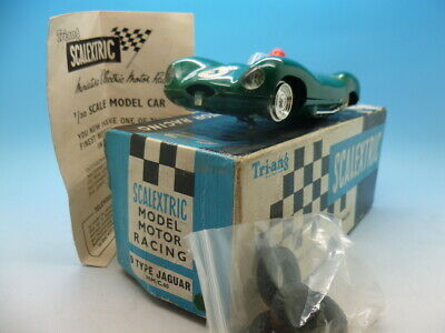 Scalextric C60 D Type Jaguar In Green, Comes With Box And Instructions • 85£