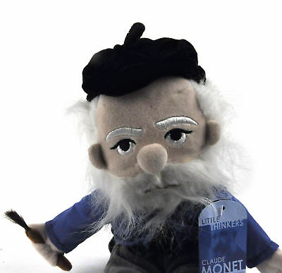 Claude Monet Soft Toy - Little Thinkers Doll • 24.99£