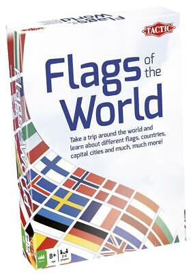 Tactic - Flags Of The World - Educational Card Game • 11.95£