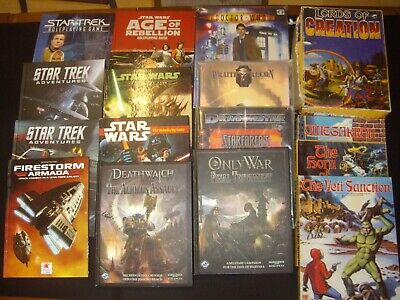 Star Wars & Other Science Fiction Role Playing Games +Grenadier Minis RPG R1 • 20£