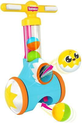 Tomy Pic And Pop Walker Push Along Baby Toddler Fun Activity Walking Aid Toy • 18.99£