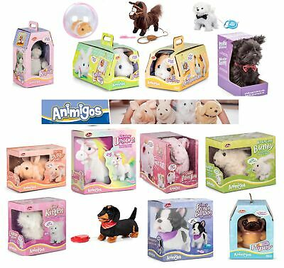 Animigos Range Fun Kids Interactive Toys Gift Electronic Pet Soft Cuddly Magical • 12.99£
