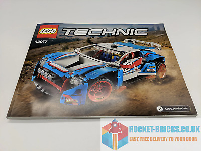 ⭐️lego Technic 42077 Rally Car - Instruction Manual Only - Brand New⭐️ • 7.99£