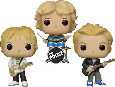 The Police Set Of 3 Funko Pop Vinyls New In Boxes • 51.04£