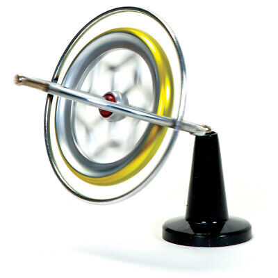 Retro Original Metal Tedco Gyroscope Spinning Educational Gadget Gift Toy • 13.99£