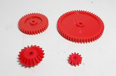 Model Plastic Gears For 4mm Shaft -choose Size • 1.50£