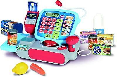 Casdon Supermarket Till Children Cash Register Shopping Playset Role Play 664 • 17.98£