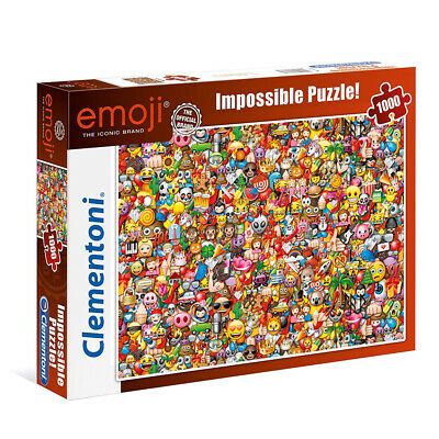 New Clementoni Impossible Emoji 1000 Piece Jigsaw Puzzle  • 15.99£