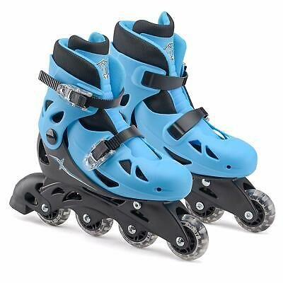 Xootz Inlines Blue Skates Size Small 9-12 Infant Fun Kids Outdoor Toy Gift • 23.99£