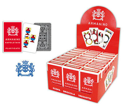 NEW SCOPA Italian Playing Cards Napoletane By ARMANINO  • 12.50£