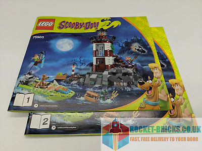 ⭐️LEGO 75903 SCOOBY-DOO! HAUNTED LIGHTHOUSE - 2 X MANUALS ONLY - NEW⭐️ • 5.99£