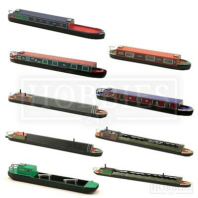 Craftline Canal Narrow Boats Models 1:76 Scale OO Gauge Coal Tug Holiday Boat • 7.49£
