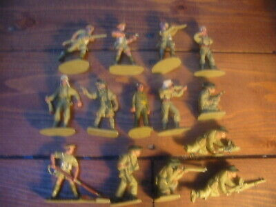 Crescent,Lone Star 1960's Toy Soldiers.#1 • 12.99£