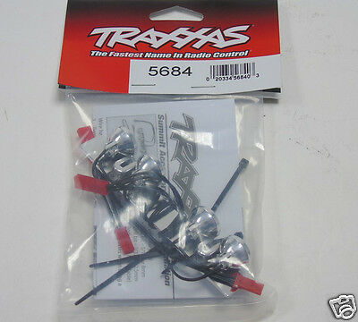 5684 Traxxas RC Car Parts LED Light Bar Chrome 4 Clear Lights For: Summit New UK • 19.99£