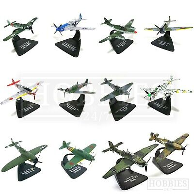2 Pack Dueling Diecast Model Planes 1/72 Scale Atlas Editions Hurricane Stuka • 18.99£