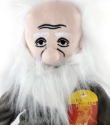 Charles Darwin  Soft Toy - Little Thinkers Doll • 24.99£