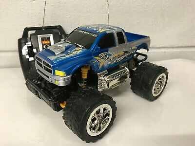 Monster Truck Radio Remote Control Car Fast Speed Blue Red Boxed Uk Stock • 11.99£