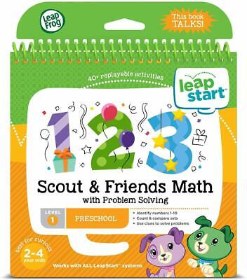LeapStart Scout & Friends Maths Activity Book • 7.99£