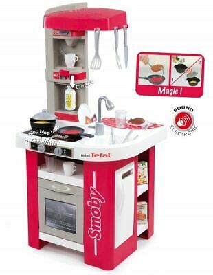 Smoby Tefal Studio Cuisine Kitchen Cooking Childrens Kids Role Play Toy • 62.95£