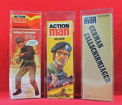 Action Man 12  Figure Clear Display Box (Qty X10 Cases)   Single Version • 25£