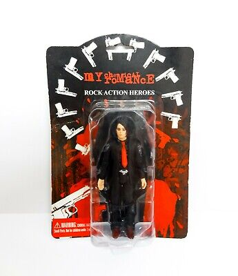 My Chemical Romance Gerard Way Coffin Action Figure Boxed Rare Vintage • 150£