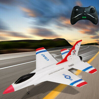 RC Airplane Mini 2.4GHz Remote Control Aircraft F-16 Fighter Ready To Fly • 25.61£