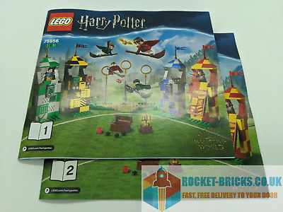 ⭐️LEGO 75956 HARRY POTTER QUIDDITCH MATCH - 2 X MANUALS ONLY - NEW⭐️ • 5.99£