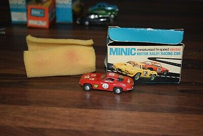 TRIANG MINIC MOTORWAY M1577 Chevrolet Stingray In Red Excellent Boxed Condition • 49.99£