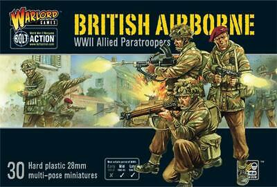 British Airborne - Bolt Action - Warlord -  Ww2 - Sent First Class • 24.40£