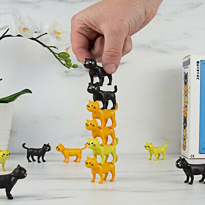 Cat-astrophe Stacking Cats Board Game • 10.95£