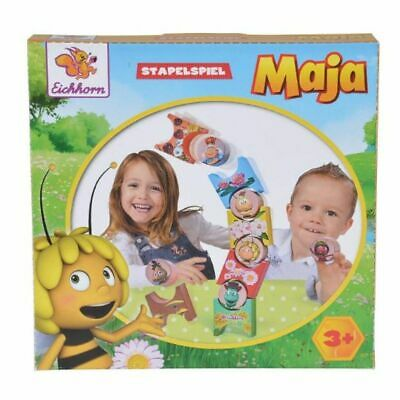Eichhorn Maya The Bee Stacking Game Game Of Skill Wooden Toy From 3 J • 20.62£