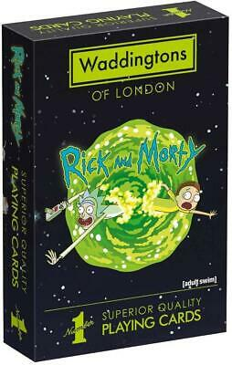 Rick And Morty Playing Cards • 4.79£