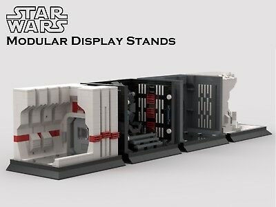 **SALE** Lego Star Wars MOC Modular Display PDF Instructions Only • 6.19£