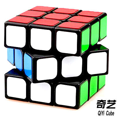 Kids Cube QiYi Toy Magic Mind Game Classic Puzzle 3X3 Adult Brain Teaser 5-99yrs • 5.45£