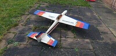 Thunder Tiger Champion 45S  F3A Pattern Airplane Complete With Futaba Servos • 120£