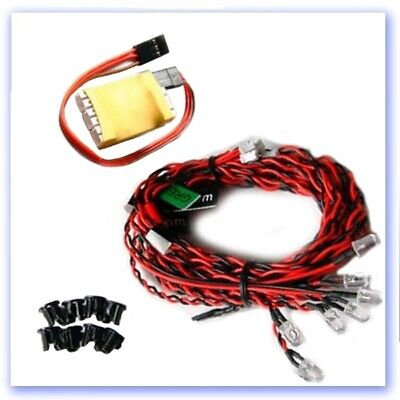 LED Aircraft & Heli Lighting System (4-6V) • 13.41£