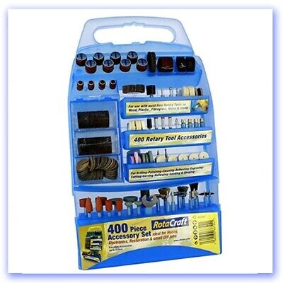 Rotacraft 400 Piece Accessory Kit For Rotary Tools • 19.06£