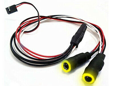 LED Angel Eyes RC Car Or Drone Lights 9.4mm (YELLOW) • 6.39£