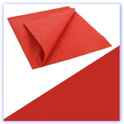 Lightweight Tissue Covering Reno Red  50 X 76cm 5 Sheets • 7.99£