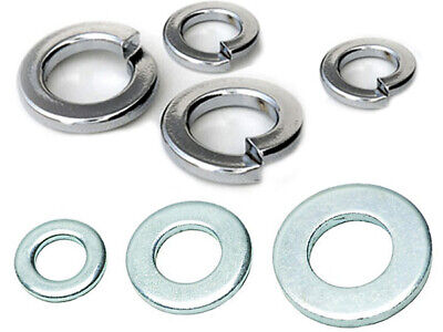 Mixed Washers Lock/Spring Standard Various Sizes • 6.99£