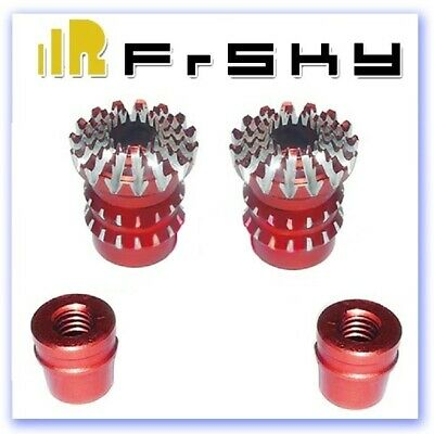FrSky Aluminium Gimbal Stick Ends Lotus M3 Red • 13.66£