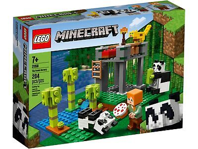21158 LEGO Minecraft The Panda Nursery Set 204 Pieces Age 7+ • 23.99£