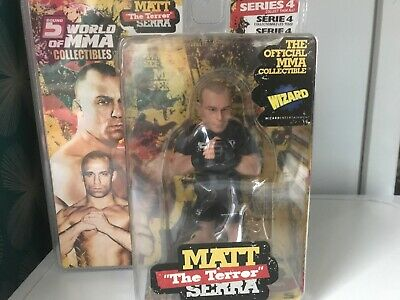 Round 5 World Of MMA Champions UFC Series 4 Action Figure Matt The Terror Serra • 22£