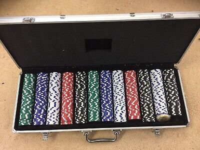 Pocker Chips In A Heavy Case.. • 14.99£