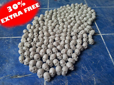 28mm Scale Bag Of 100+ Resin Skulls. For Fantasy And Sci-fi Bases And Terrain • 8.99£