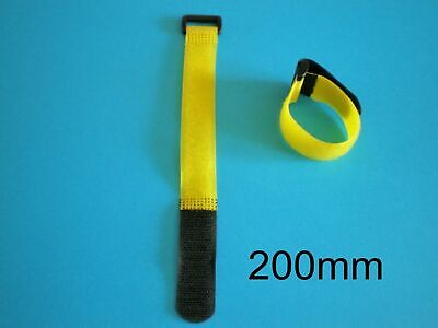 Velcro Strap 200mm Long For Lipo Battery Pack Suit 450/500 Helis Planes Cars • 5£