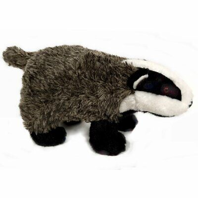 25cm Badger Cuddly Soft Toy - Plush Stuffed Animal • 14.99£