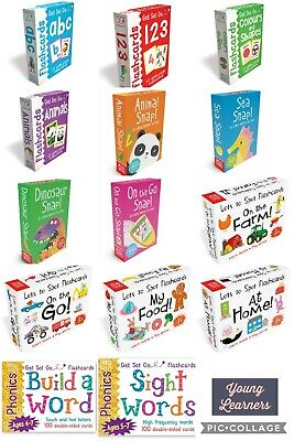 Kids Flashcards  Educational Pre School Letters, Numbers, Phonics, Animals EYFS • 6.99£