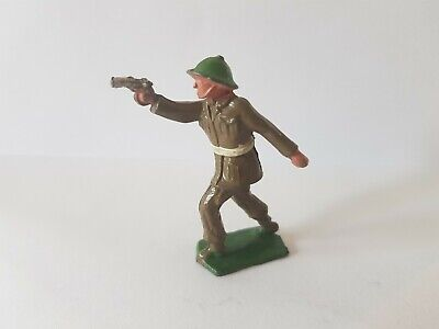 Vintage Crescent Toys Hollow Cast Lead Soldier • 17.20£