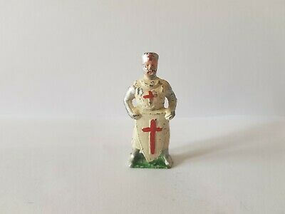 Vintage Cherilea Crusader Medieval Figure In Hollow Cast Lead • 22.27£